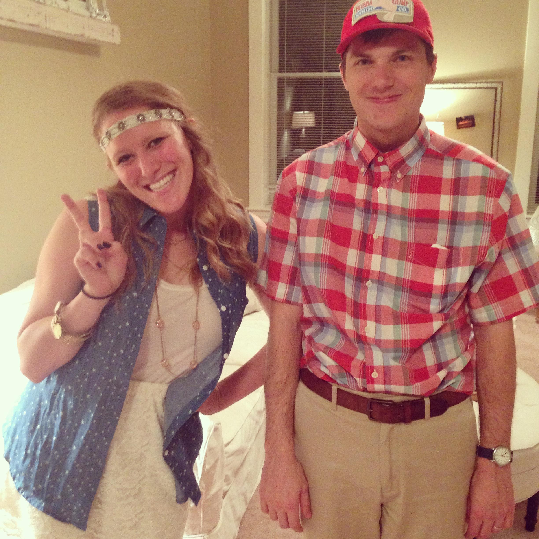Last,minute couple\u0027s Halloween costume idea?? We\u0027ve got you