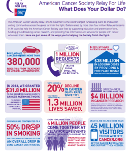 Relay for Life Fact Sheet
