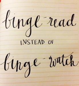 Binge-read