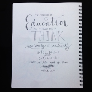 True Education - MLK